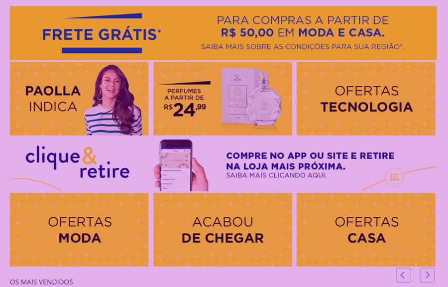 Pernambucanas.com.br usa magento 2